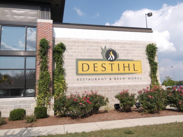 Hand-Painted Signage for Destihl Restaurant & Brew Works